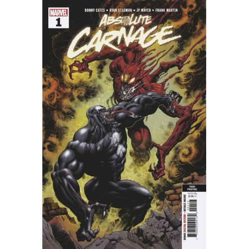 ABSOLUTE CARNAGE 1 (OF 5) (VO) 3RD PTG NEW ART HOTZ VAR AC