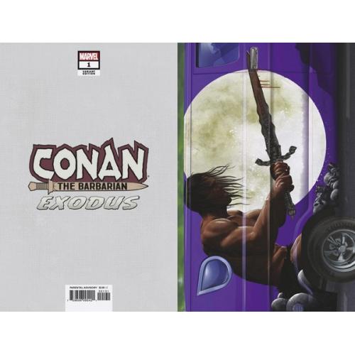 CONAN THE BARBARIAN EXODUS 1 HORN VAN VAR (VO)