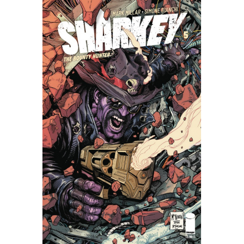 SHARKEY BOUNTY HUNTER 5 (OF 6) CVR C MCNIVEN (VO) MARK MILLAR - SIMONE BIANCHI