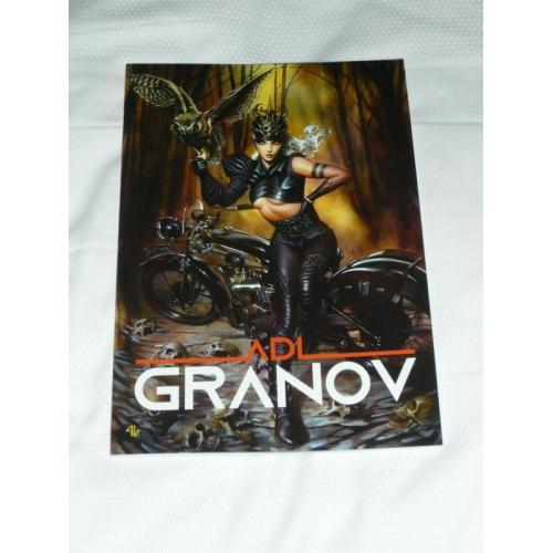 ADI GRANOV SKETCHBOOK 2019 SIGNÉ (VO)