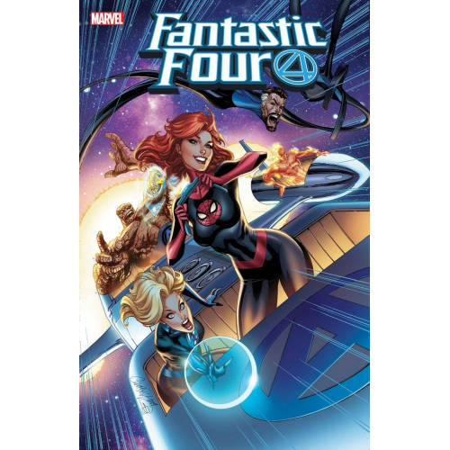 FANTASTIC FOUR 15 (VO) JSC MARY JANE VAR - J. SCOTT CAMPBELL