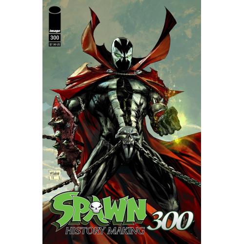 SPAWN 300 (VO) Jason Shawn Alexander Cover (H)
