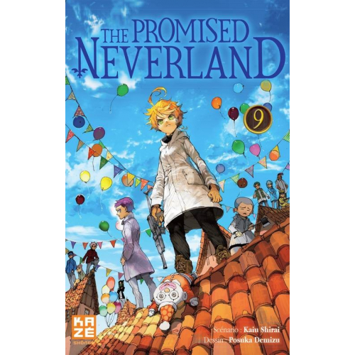 The promised Neverland Tome 9 (VF)