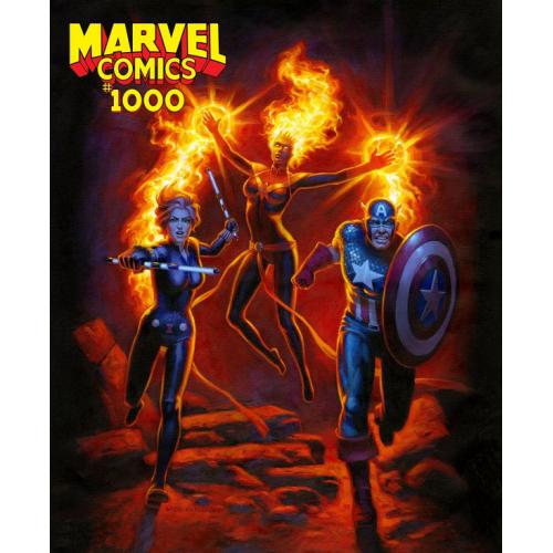 MARVEL COMICS 1000 HILDEBRANDT VAR (VO)