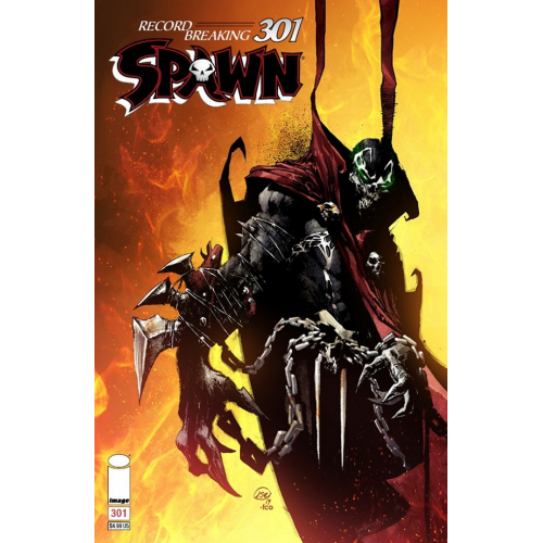 SPAWN 301 (VO) Jason Shawn Alexander Cover (D)