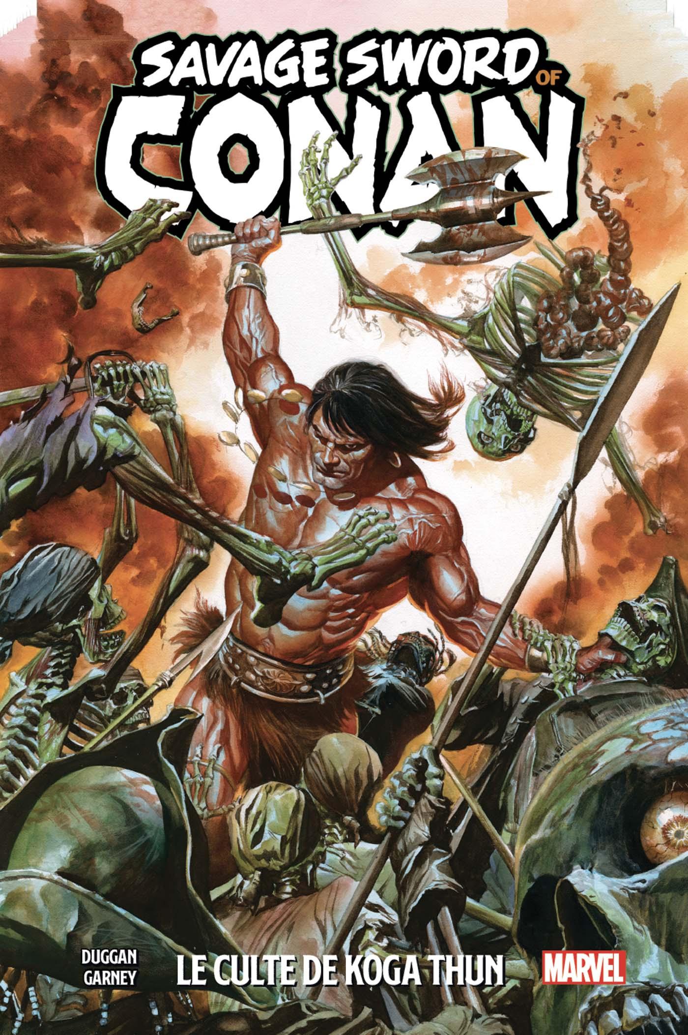 THE SAVAGE SWORD OF CONAN TOME 1 (VF)