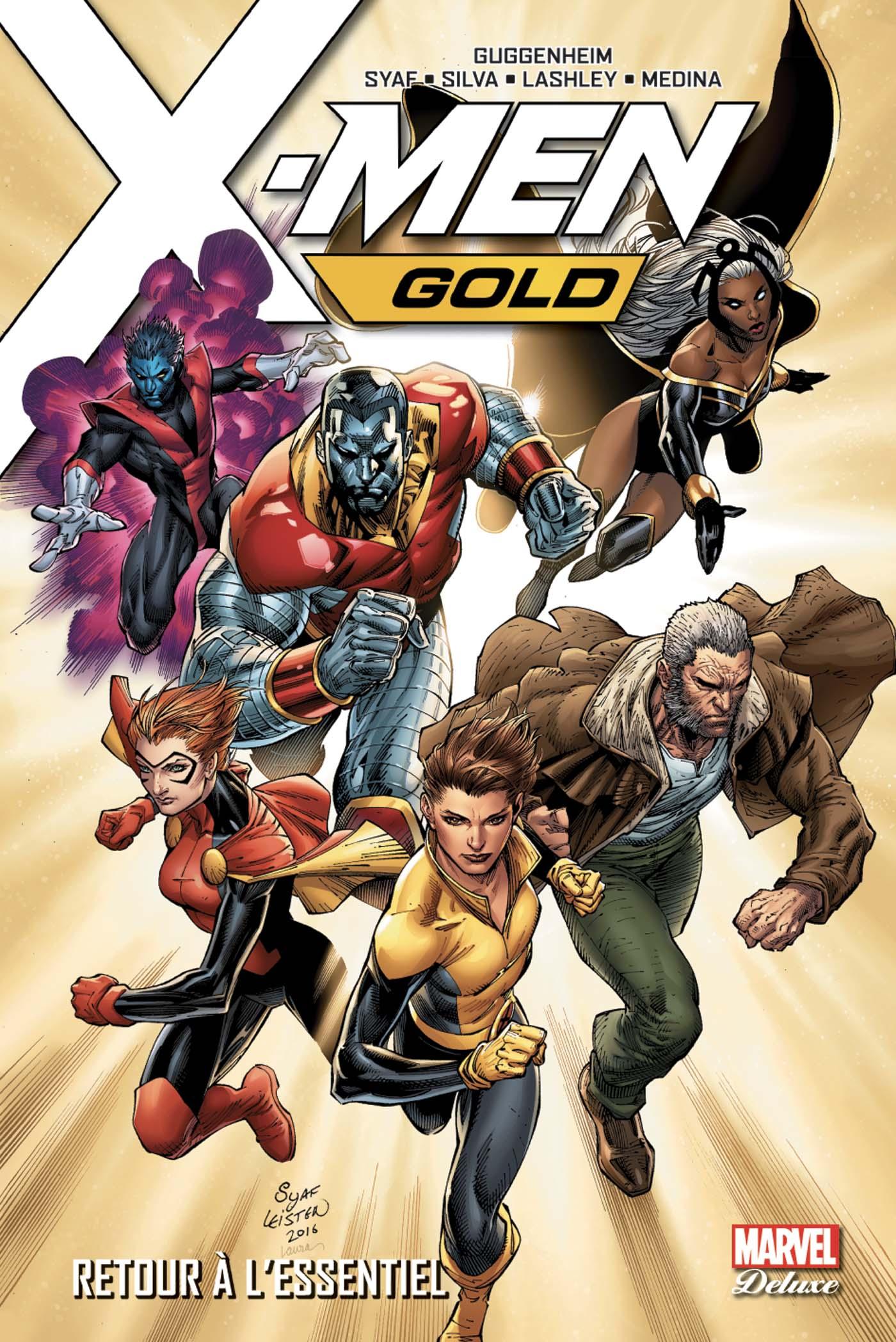 X-MEN RESURREXION : GOLD TOME 1 (VF)
