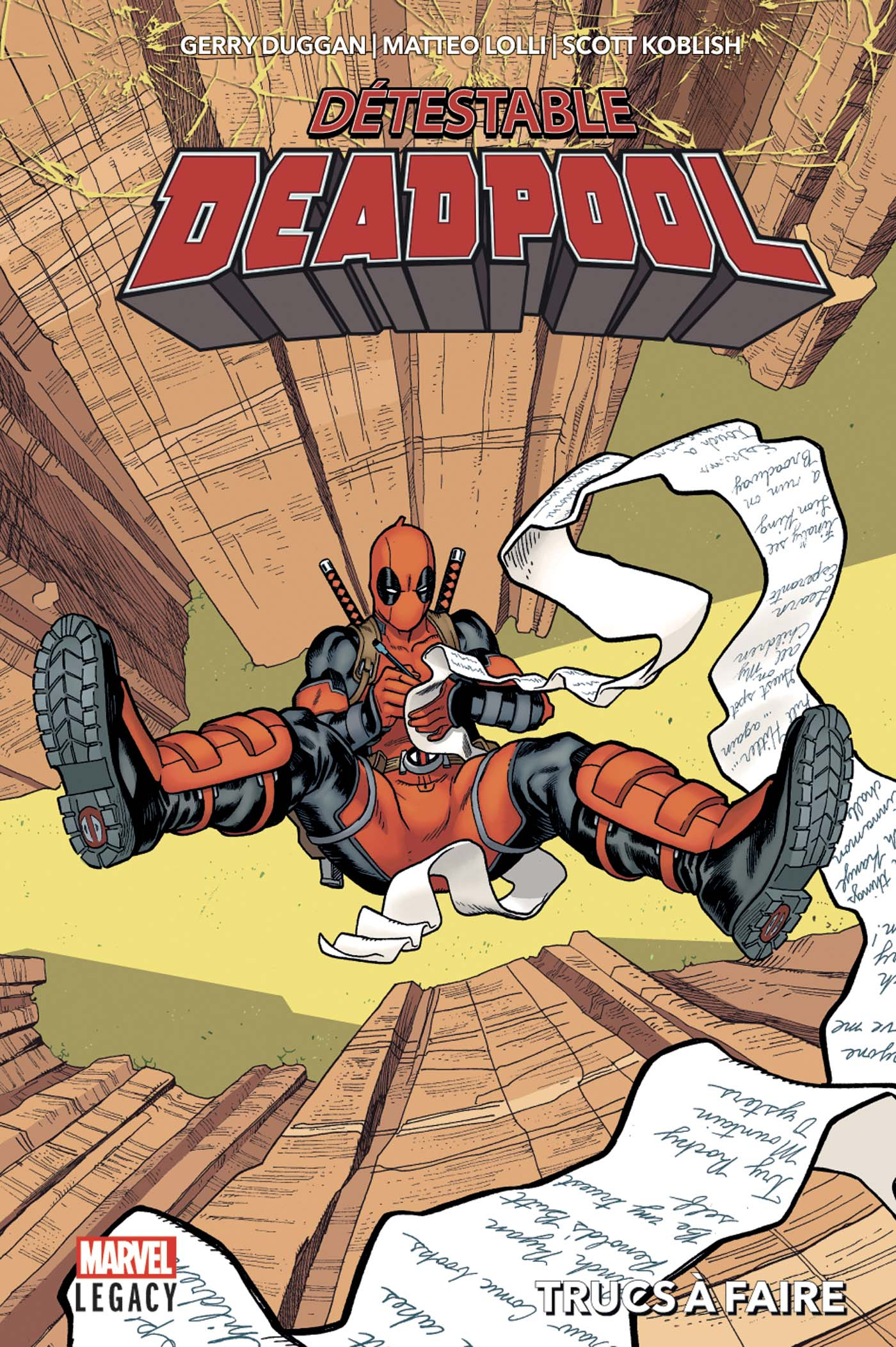 MARVEL LEGACY : DESPICABLE DEADPOOL TOME 2 (VF)