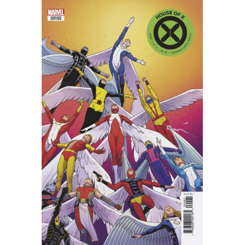 HOUSE OF X 4 (OF 6) CABAL CHARACTER DECADES VAR (VO)