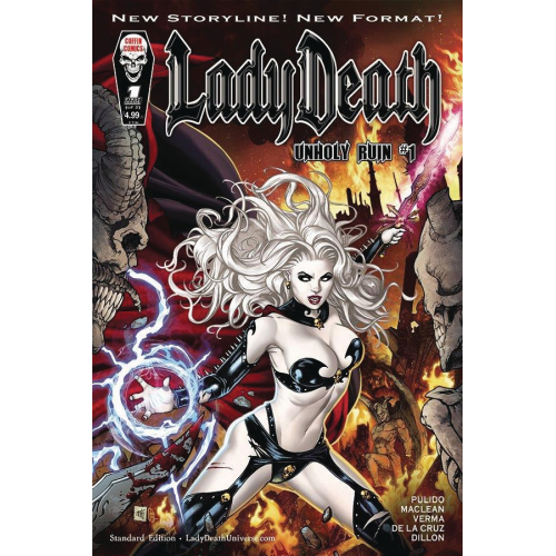 LADY DEATH UNHOLY RUIN 1 (VO)