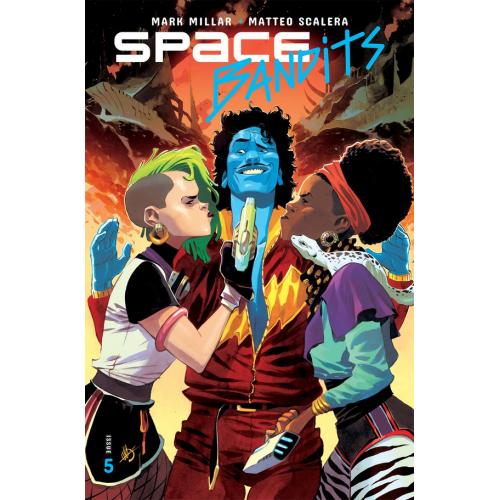 SPACE BANDITS 5 (OF 5) CVR A SCALERA (VO)