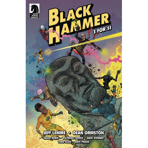 BLACK HAMMER 3 FOR $1 (VO)