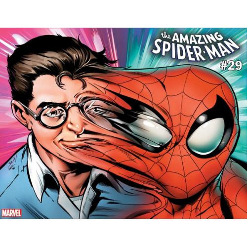 AMAZING SPIDER-MAN 29 BAGLEY IMMORTAL WRPAD VAR (VO)