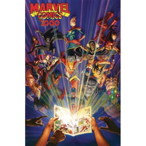MARVEL COMICS 1000 HC (VO)