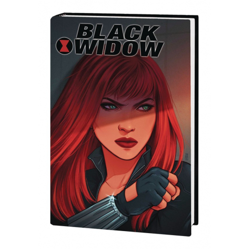 BLACK WIDOW POSTCARD BOOK HC (VO)