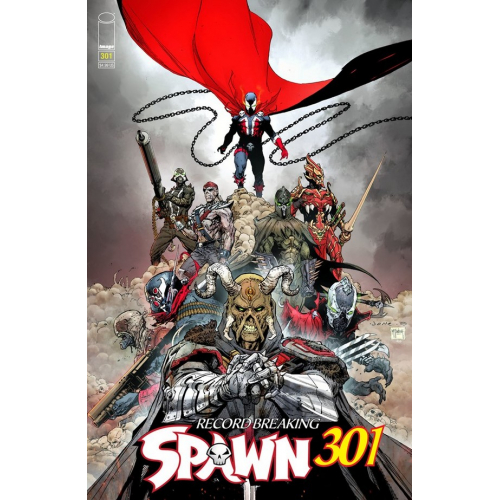 SPAWN 301 (VO) Jerome Opena Cover (f)
