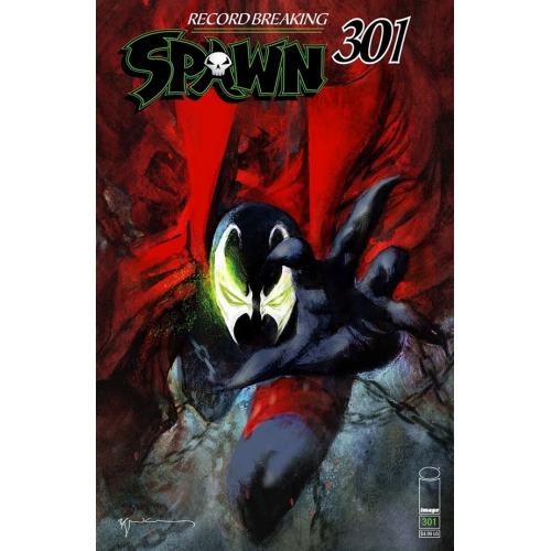SPAWN 301 (VO) Bill Sienkiewicz Cover (M)