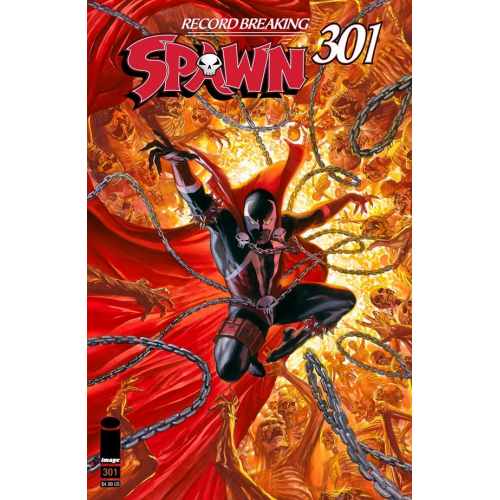 SPAWN 301 (VO) Alex Ross Cover (K)