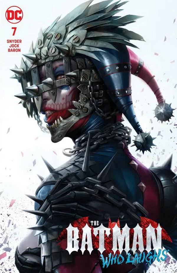Batman Who Laughs 7 Variant Ed (VO) - Snyder - JOCK - MATTINA VARIANT