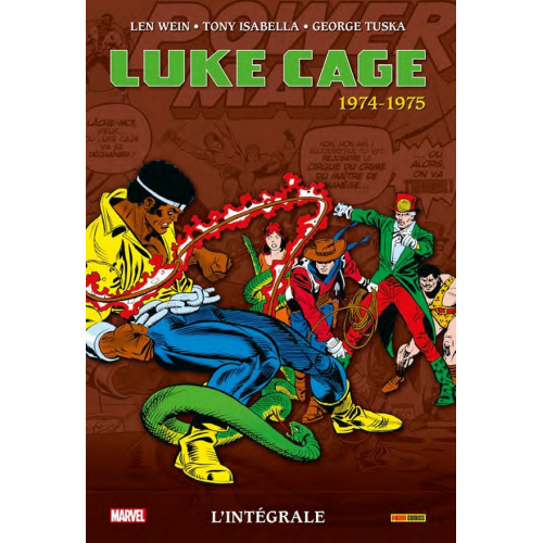 LUKE CAGE : L'INTÉGRALE 1974-1975 (VF)