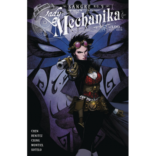Lady Mechanika : Sangre 5 (VO) Couverture A