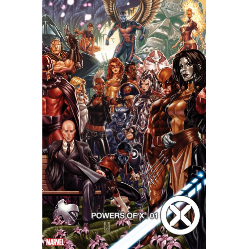POWERS OF X 1 (VO) Signé par Joe Quesada