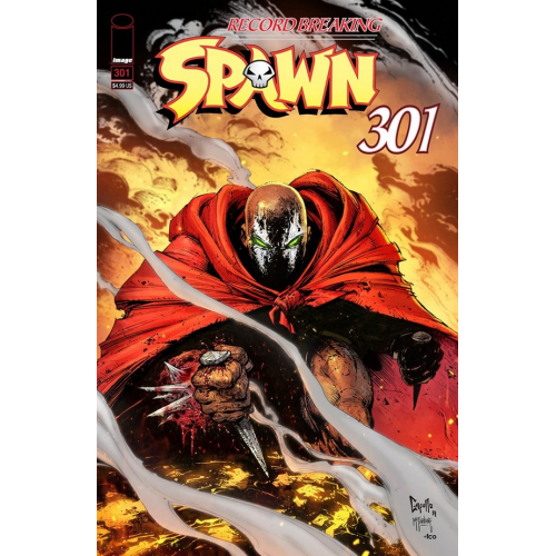 SPAWN 301 (VO) Greg Capullo Cover (B)