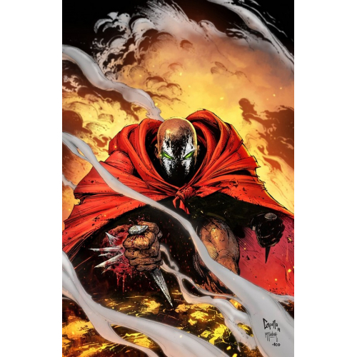 SPAWN 301 (VO) Greg Capullo Virgin Cover (C)