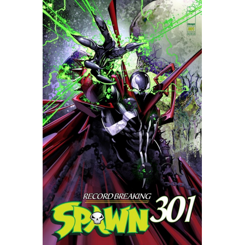 SPAWN 301 (VO) Clayton Crain Cover (E)