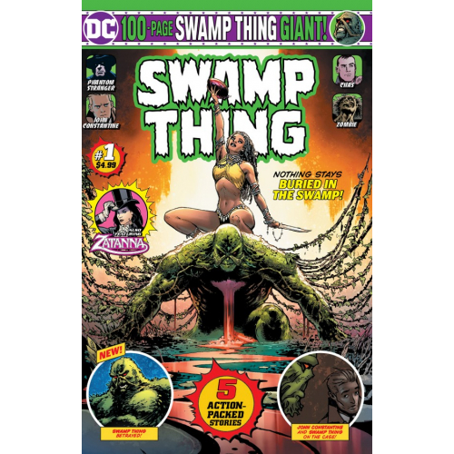 SWAMP THING GIANT 1 (VO)