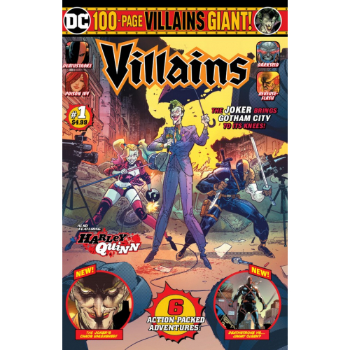 DC VILLAINS GIANT 1 (VO)