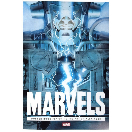 MARVELS POSTER BOOK TP (VO)