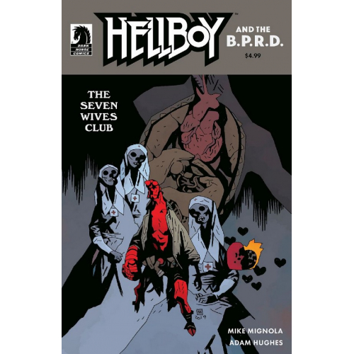 Hellboy and the B.P.R.D.: The Seven Wives Club (VO) MIGNOLA VARIANT