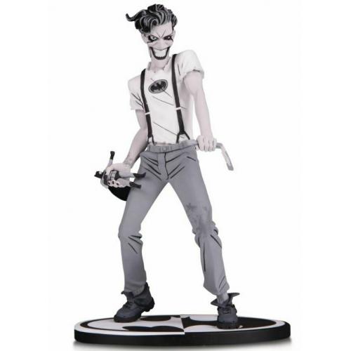 Batman Black & White - Statuette The White Knight Joker by Sean Murphy 18 cm