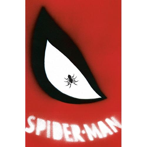 SPIDER-MAN 1 (VO) J.J. ABRAMS CHIP KIDD DIE CUT VARIANT