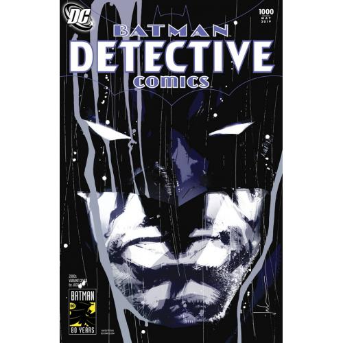 DF DETECTIVE COMICS 1000 1980S MILLER VAR SGN MILLER (VO) Signé par Frank Miller