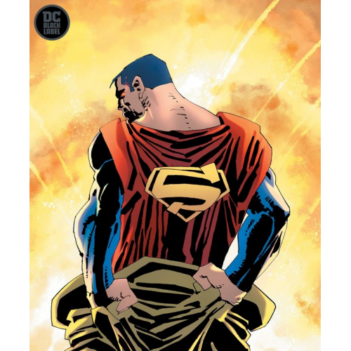 DF SUPERMAN YEAR ONE 1 GOLD SGN MILLER (VO) Signé par FRANK MILLER