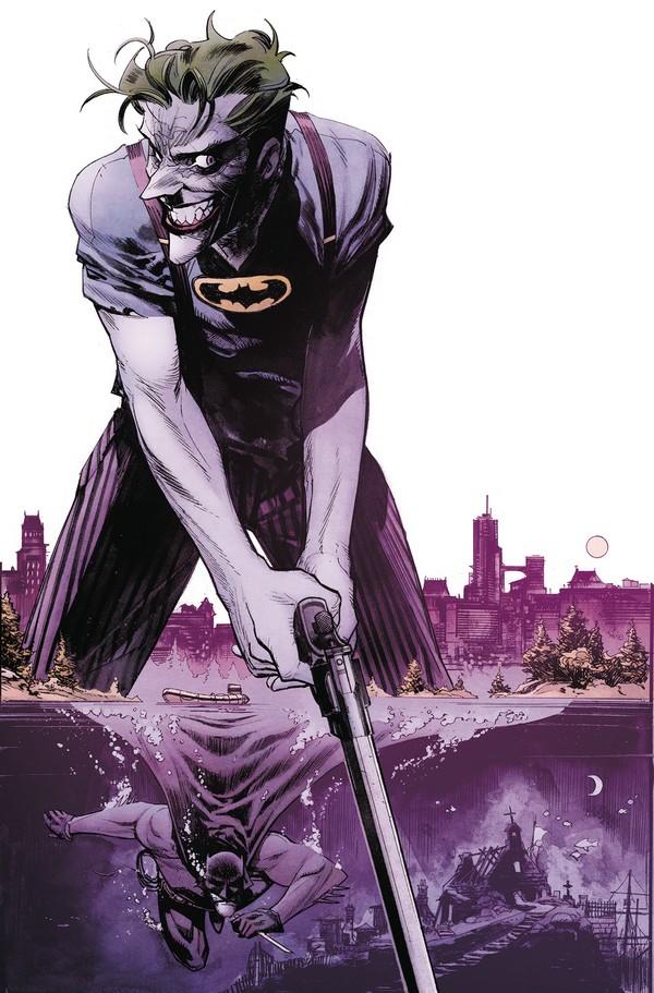 BATMAN CURSE OF THE WHITE KNIGHT 5 (OF 8) (VO) SEAN MURPHY DC BLACK LABEL