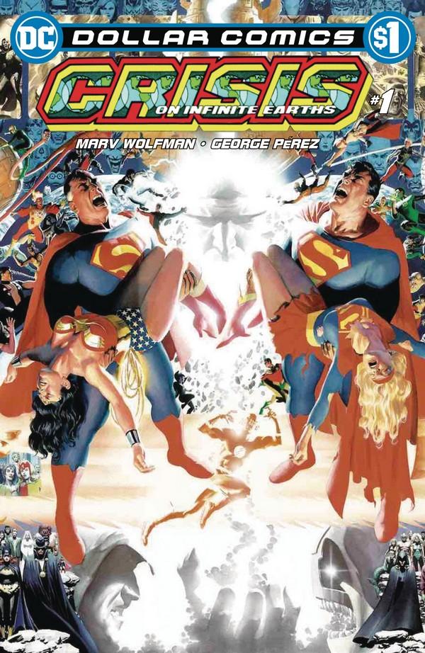 """Résultat de recherche d'images pour """"crisis on infinite earths comics"""""""