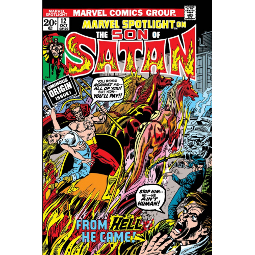 SON OF SATAN MARVEL SPOTLIGHT 12 FACSIMILE EDITION (VO)