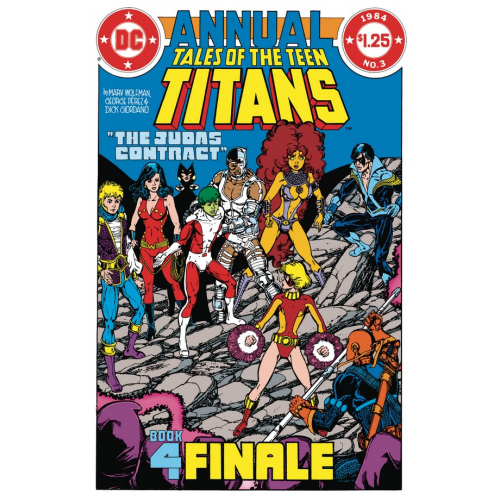 DOLLAR COMICS TALES OF THE TEEN TITANS ANNUAL 3 (VO)