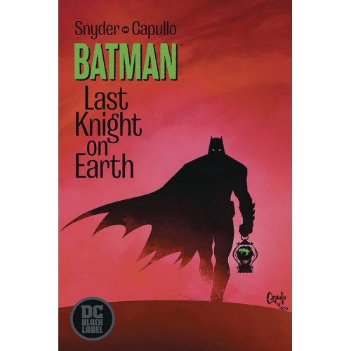 DF BATMAN LAST KNIGHT ON EARTH 1 SGN CAPULLO (VO) Signé par Greg Capullo