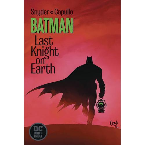 DF BATMAN LAST KNIGHT ON EARTH 1 SGN SNYDER (VO) Signé par Scott Snyder