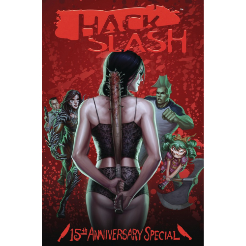 HACK SLASH 15TH ANNV CELEBRATION CVR A WALPOLE (VO)