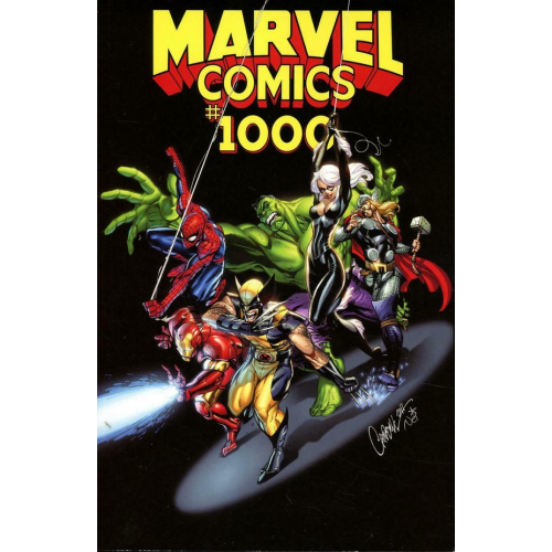 MARVEL COMICS 1000 J Scott Campbell Variant (VO)