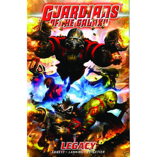 GUARDIANS OF GALAXY TP VOL 01 LEGACY (VO) occasion