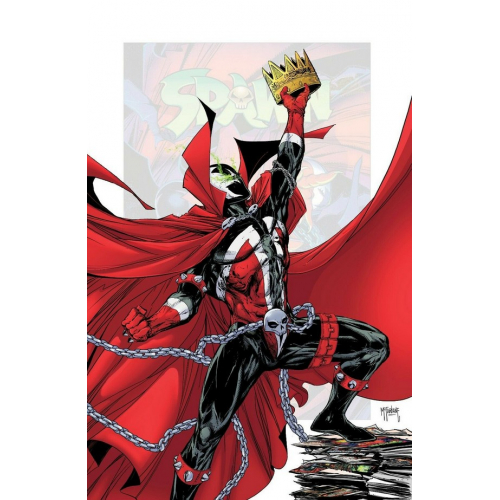 SPAWN 301 (VO) 25 COPY INCV VIRGIN MCFARLANE (J)