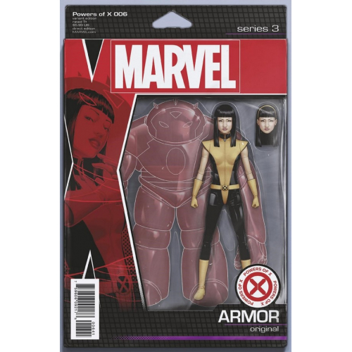POWERS OF X 6 (OF 6) CHRISTOPHER ACTION FIGURE VAR (VO)