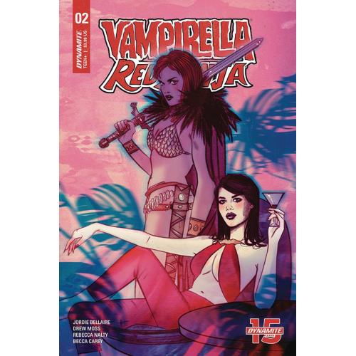 VAMPIRELLA RED SONJA 2 CVR A LOTAY(VO)