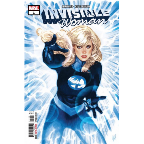 DF INVISIBLE WOMAN 1 GOLD SGN ADAM HUGHES (VO)